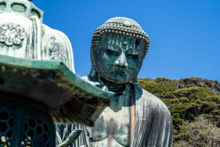 Photo for The great Buddha in the site of Kamakura, Japan - Royalty Free Image
