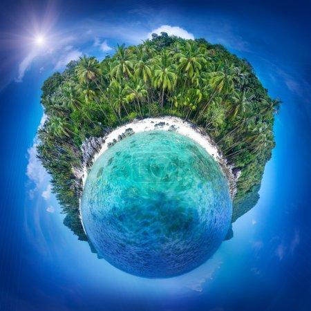 Samui island, Thailand. Perfect resort background