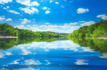 river Dniestr in Bakota