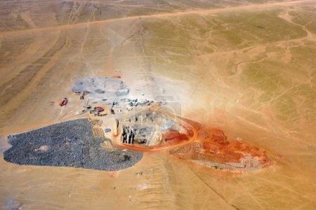 Mining development, quarry, Namibia