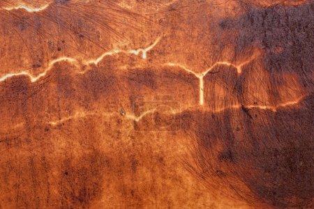Rusty steel texture