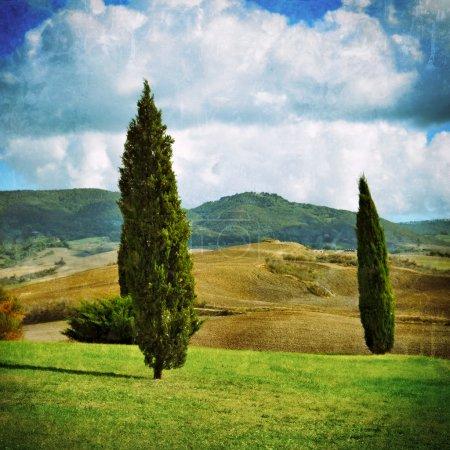 Idyllic rural Tuscan landscape