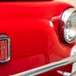 Постер, плакат: Vintage Fiat 500L front
