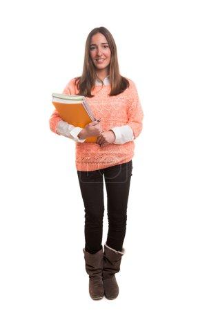 Happy female student!