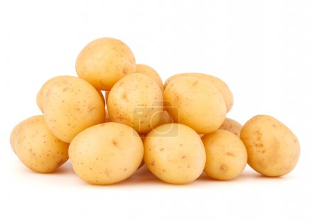 New potato tubers