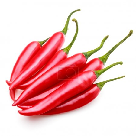 Chili cayenne peppers