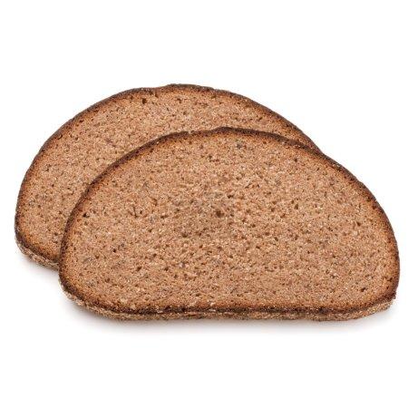 Slice of fresh rye bread