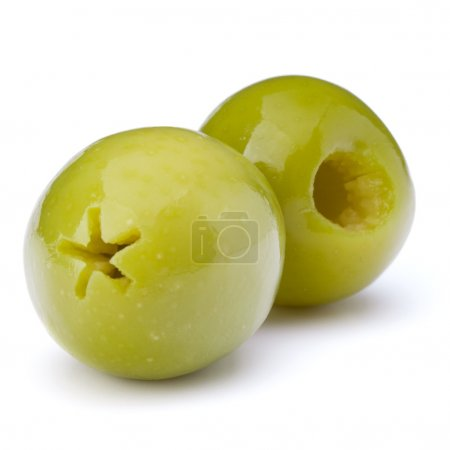 Green olives fruit