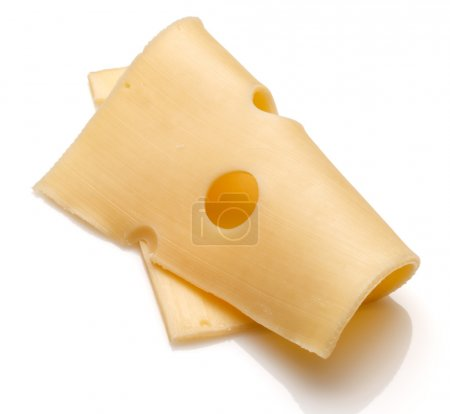 Swiss cheese slice