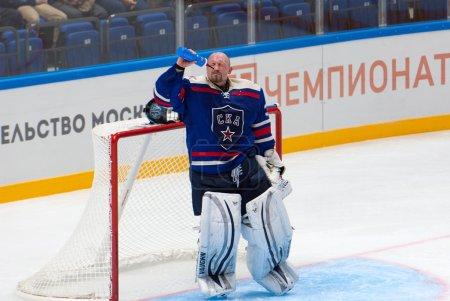 Goalkeeper Maxim Sokolov (39)