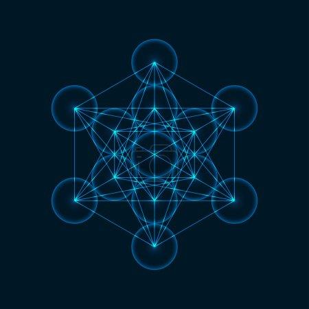 Geometric Figure Metatrons Cube