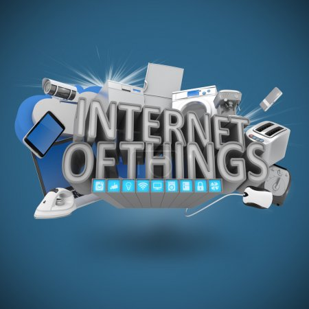 Photo for Internet of Things Concept - Royalty Free Image
