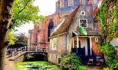 Malebné centrum města Delft