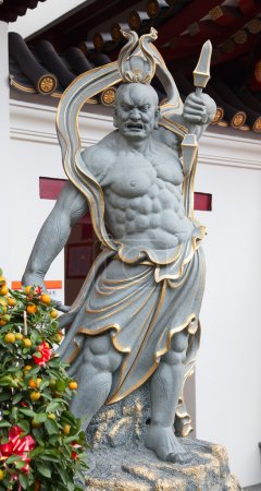 Statue near Buddha's Relic Tooth Temple