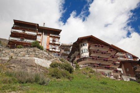 Famous swiss city Zermatt