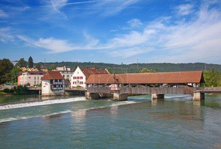 Bremgarten old town near Zurich