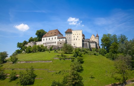 Lenzburg castle near Zurich