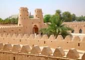 Jahili fort in Al Ain oasis