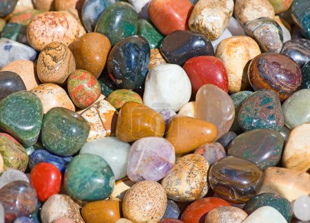 Collection of the semi precious stones...