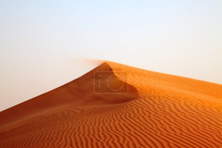 "Red sand ""Arabian desert"" near Dubai"