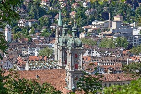 Photo pour Abbaye catholique romaine de Sankt Gallen, Suisse - image libre de droit