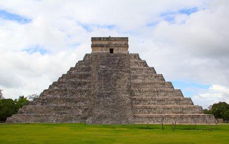 Ruins of the Chichen-Itza, Yucatan,