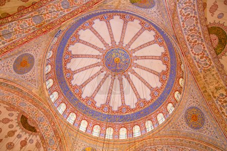 """Famous """"Blue mosque"""" in Istanbul"""