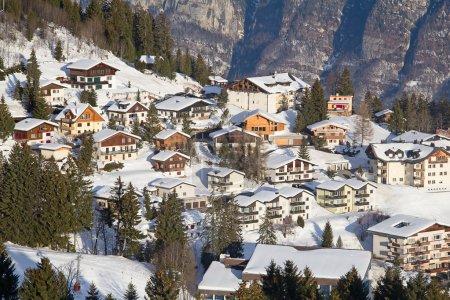 Winter in  swiss alps, Switzerland