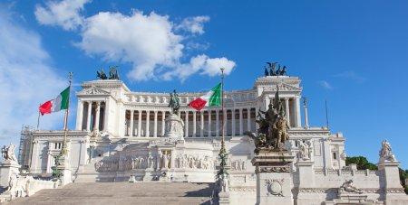 """Famous """"Altare della Patria"""" in Rome"""