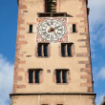Beautiful tower in Strasbourg, Alsace region, Fran...