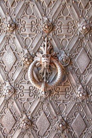 antique Metal door