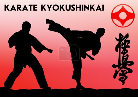 KARATE. Taekwon-do. KYOKUSHINKAI. MARTIAL ART.