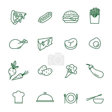 Food Icons - Set