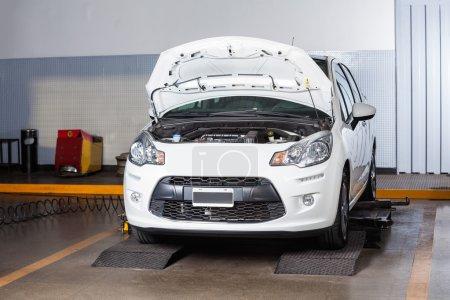 Car At Auto Repair Shop