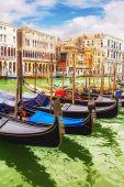 Gondola at the Grand canal, Venice