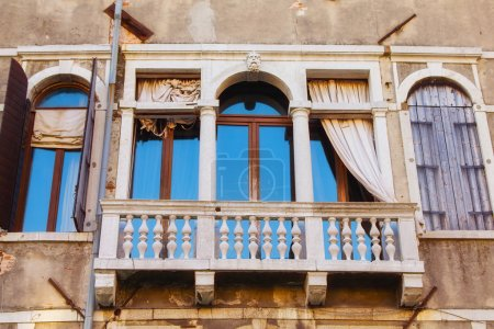 Photo for Details of windows, Venice, Italy - Royalty Free Image
