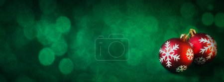 Photo for Christmas decoration on abstract background - Royalty Free Image