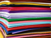 Colorful wool sheets