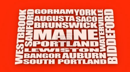 Maine state cities list