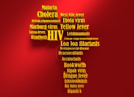 African continent diseases name list