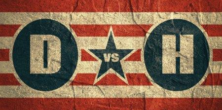Presidential Candidate Donald Trump vs Hillary Clinton