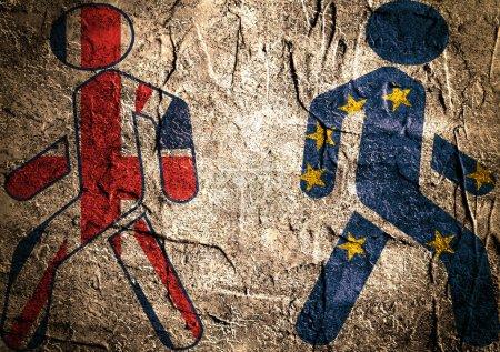 Britain exit from European Union. Brexit