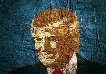 Эскиз портрета в президенты от республиканцев