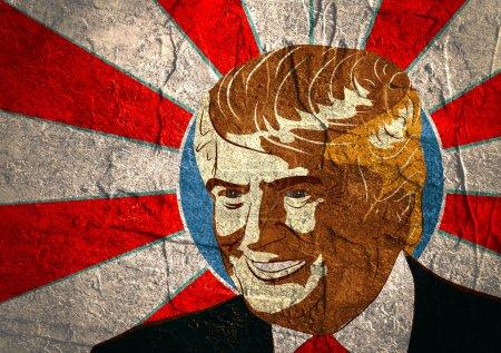 Portrait  Presidential Candidate Donald Trump