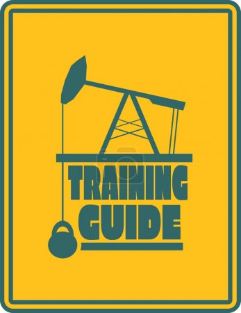 Training guide text. Gym and Fitness relative image
