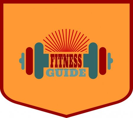 Fitness guide text. Gym and Fitness relative image
