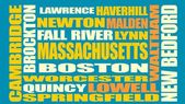 Massachusetts state cities list