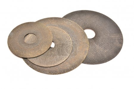 Cutting abrasive disc