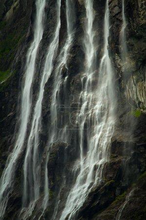 waterfall fjord