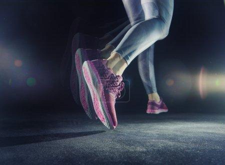 athletes foot close-up.